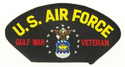 US Air Force Gulf War Veteran Patches